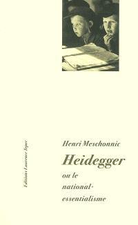 Heidegger ou Le national-essentialisme
