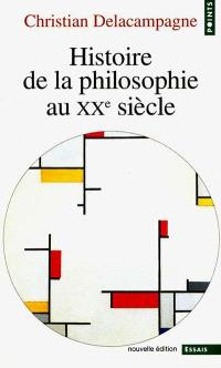Histoire de la philosophie au XXe siècle