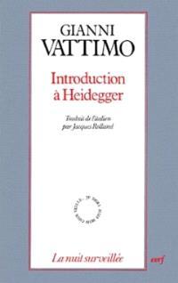 Introduction à Heidegger