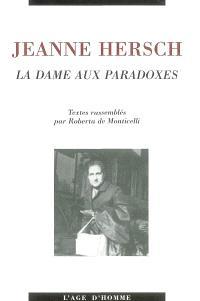 Jeanne Hersch, la dame aux paradoxes