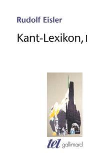 Kant-Lexikon. Volume 1