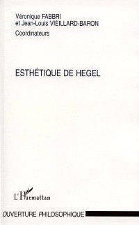 L'esthétique de Hegel : journées d'études