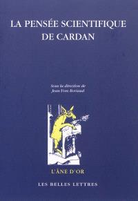 La pensée scientifique de Cardan