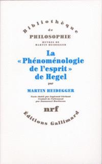La Phénoménologie de l'esprit de Hegel