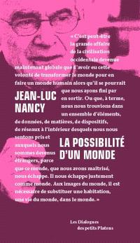 La possibilité d'un monde : dialogue avec Pierre-Philippe Jandin