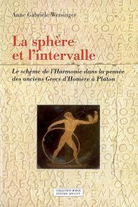 La sphère et l'intervalle : le schème de l'harmonie dans la pensée des anciens Grecs d'Homère à Platon