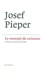 Le concept de création : la philosophie négative de saint Thomas d'Aquin
