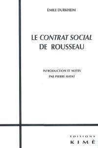 Le contrat social de Rousseau