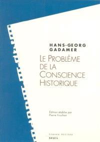 Le problème de la conscience historique
