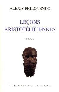 Leçons aristotéliciennes