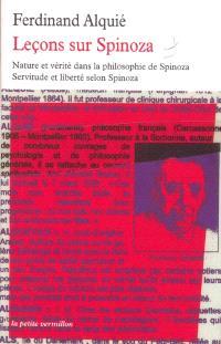 Leçons sur Spinoza