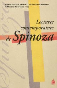 Lectures contemporaines de Spinoza