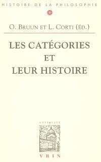 Les Catégories et leur histoire