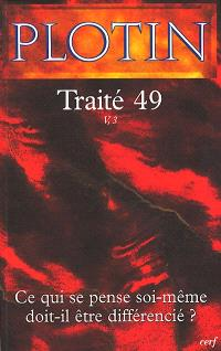 Les écrits de Plotin. Volume 7, Traité 49 : V, 3