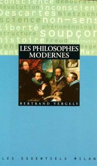 Les philosophes modernes