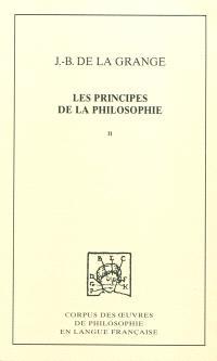 Les principes de la philosophie. Volume 2, Traité des éléments et des météores