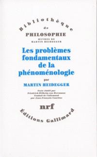Les Problèmes fondamentaux de la phénoménologie