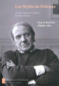 Les styles de Deleuze : esthétique et philosophie
