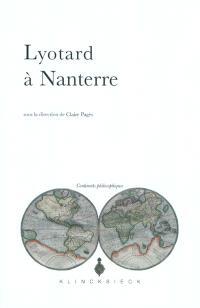 Lyotard à Nanterre