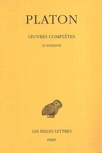 Oeuvres complètes. Volume 8-3, Le sophiste