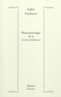 Phénoménologie de la transcendance, Création, révélation, rédemption