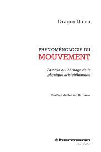 Phénoménologie du mouvement : Patocka et l'héritage de la physique aristotélicienne