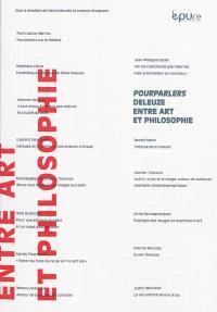 Pourparlers Deleuze entre art et philosophie