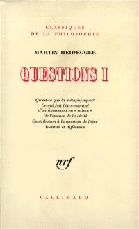 Questions. Volume 1