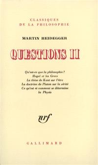 Questions. Volume 2