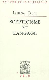Scepticisme et langage