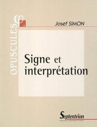 Signe et interprétation