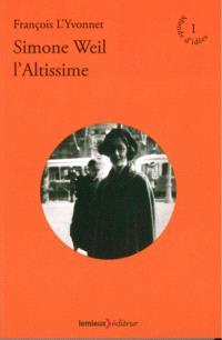 Simone Weil l'altissime