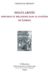 Singularités : individus et relations dans le système de Leibniz