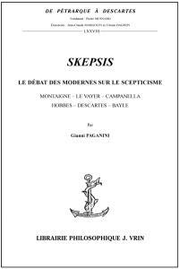 Skepsis : le débat des modernes sur le scepticisme