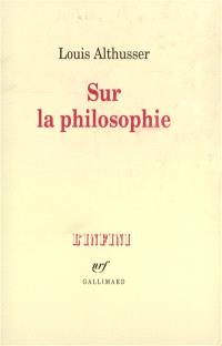 Sur la philosophie