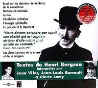 Textes de Henri Bergson