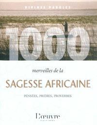 1.000 merveilles de la sagesse africaine : pensées, prières, proverbes