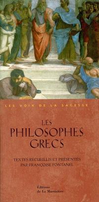 Les philosophes grecs