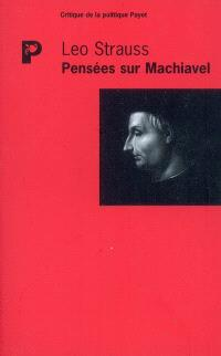 Pensées sur Machiavel