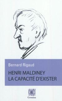 Henri Maldiney : la capacité d'exister