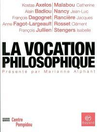 La vocation philosophique