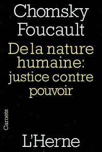 De la nature humaine : justice contre pouvoir