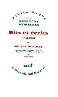 Dits et écrits : 1954-1988. Volume 3, 1976-1979