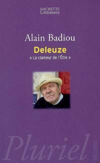 Gilles Deleuze : la clameur de l'être