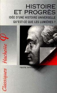 Histoire et progrès : texte intégral