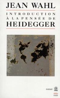 Introduction à la pensée d'Heidegger : cours donnés en Sorbonne de janvier à juin 1946