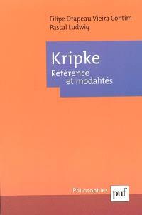 Kripke : référence et modalités