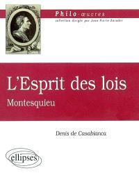 L'esprit des lois, Montesquieu