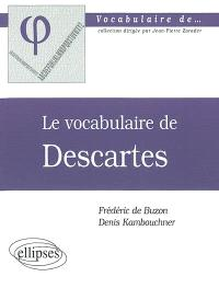 Le vocabulaire de Descartes
