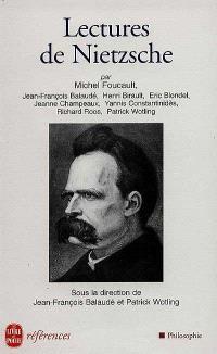 Lectures de Nietzsche